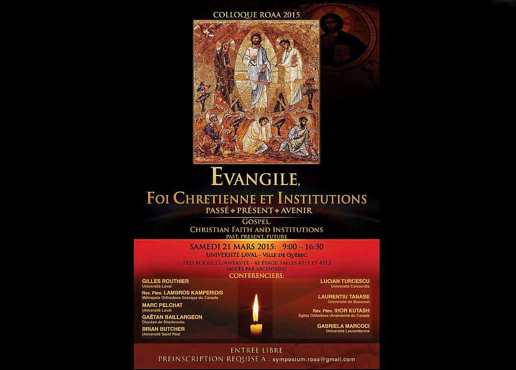 Simpozion de spiritualitate ortodoxă în Canada