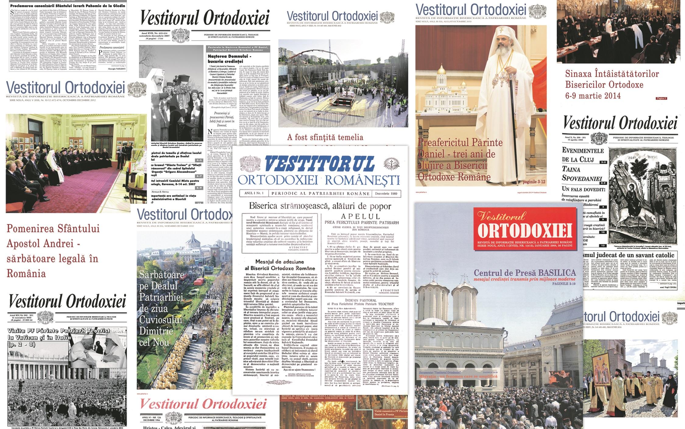 500 de Vestiri ale Ortodoxiei