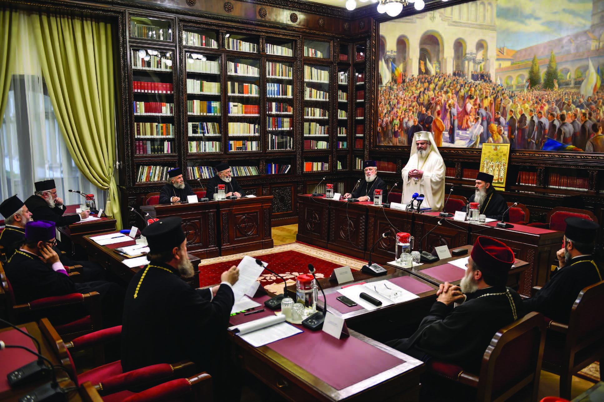 Ședință a Sinodului mitropolitan al Munteniei şi Dobrogei