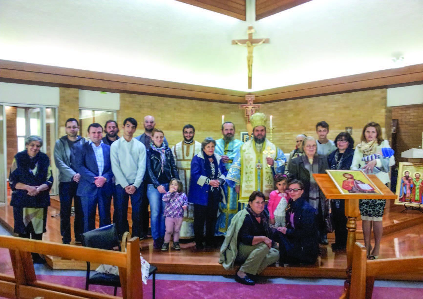Slujire interortodoxă și vizită pastorală în Australia