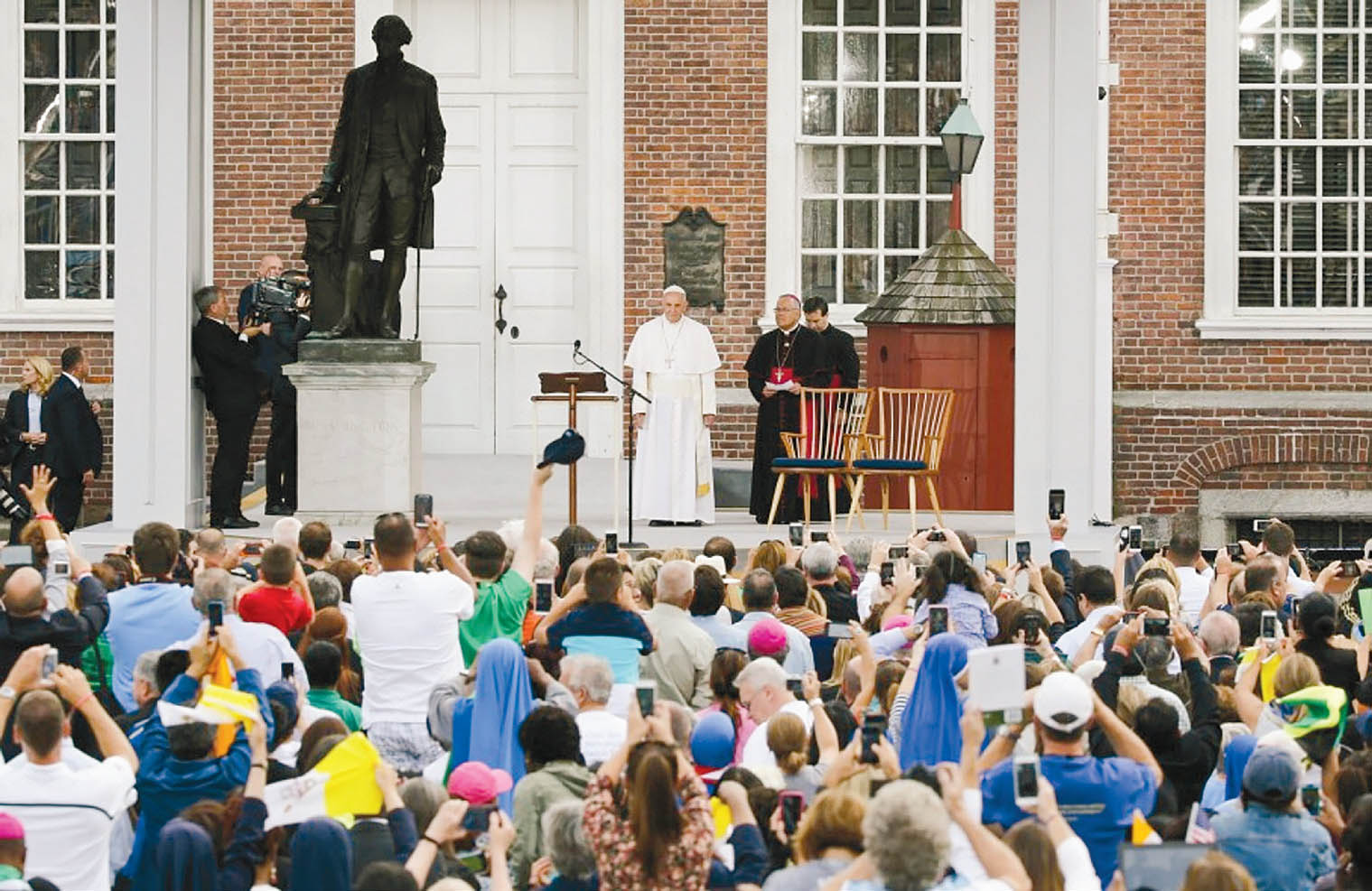 Vizită apostolică a Papei Francisc în SUA