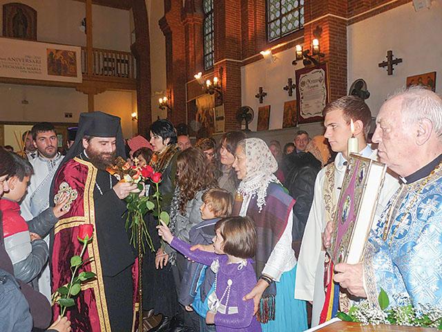 Cea mai veche parohie din Spania a îmbrăcat straie de sărbătoare