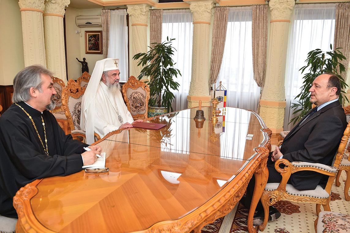 Ambasadorul Republicii Croația la București, în vizită de prezentare la Patriarhia Română