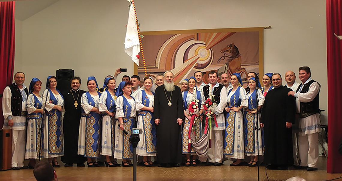 Sărbătoare la 40 de ani de slujire ortodoxă românească în Bavaria