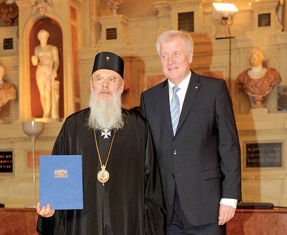 Cel mai înalt ordin bavarez pentru IPS Părinte Serafim