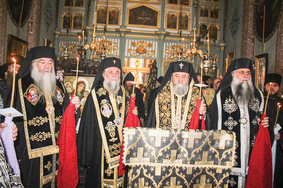 Părintele Neonil Ştefan, stareţul Mănăstirii Frăsinei, a trecut  la cele veșnice