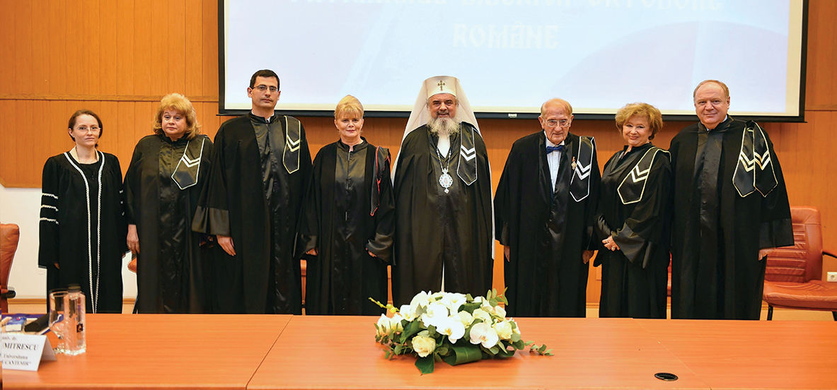 """Preafericitul Părinte Patriarh Daniel a primit titlul de doctor honoris causa din partea Universităţii Creştine """"Dimitrie Cantemir"""""""