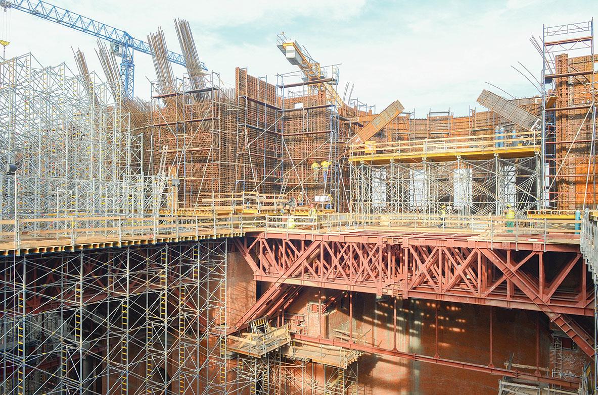 O construcţie avansată trebuie finalizată