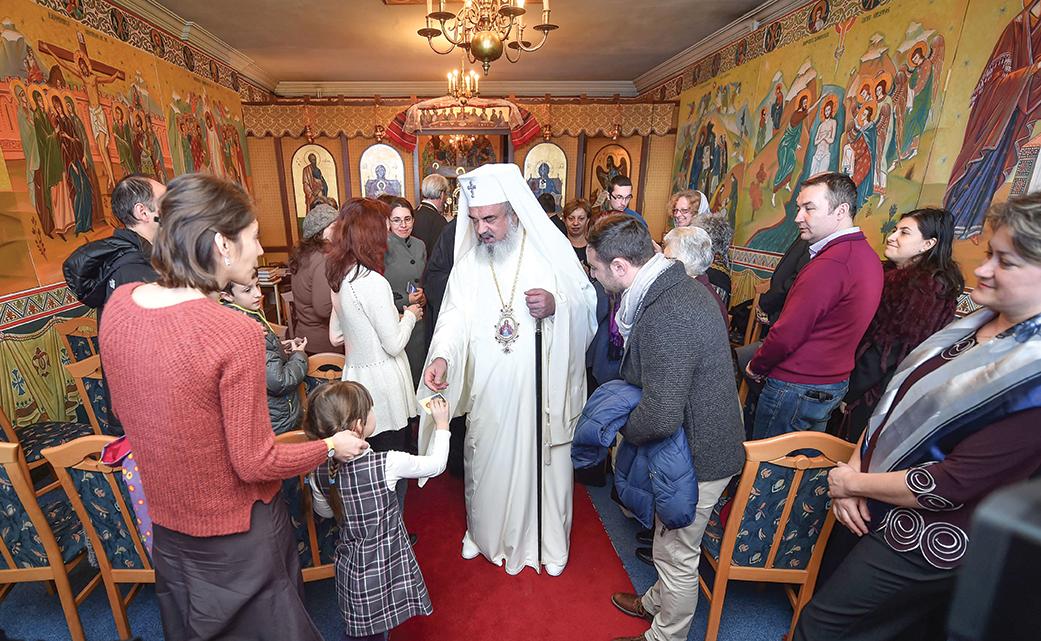 Patriarhul României a vizitat comunitatea românilor din Chambésy