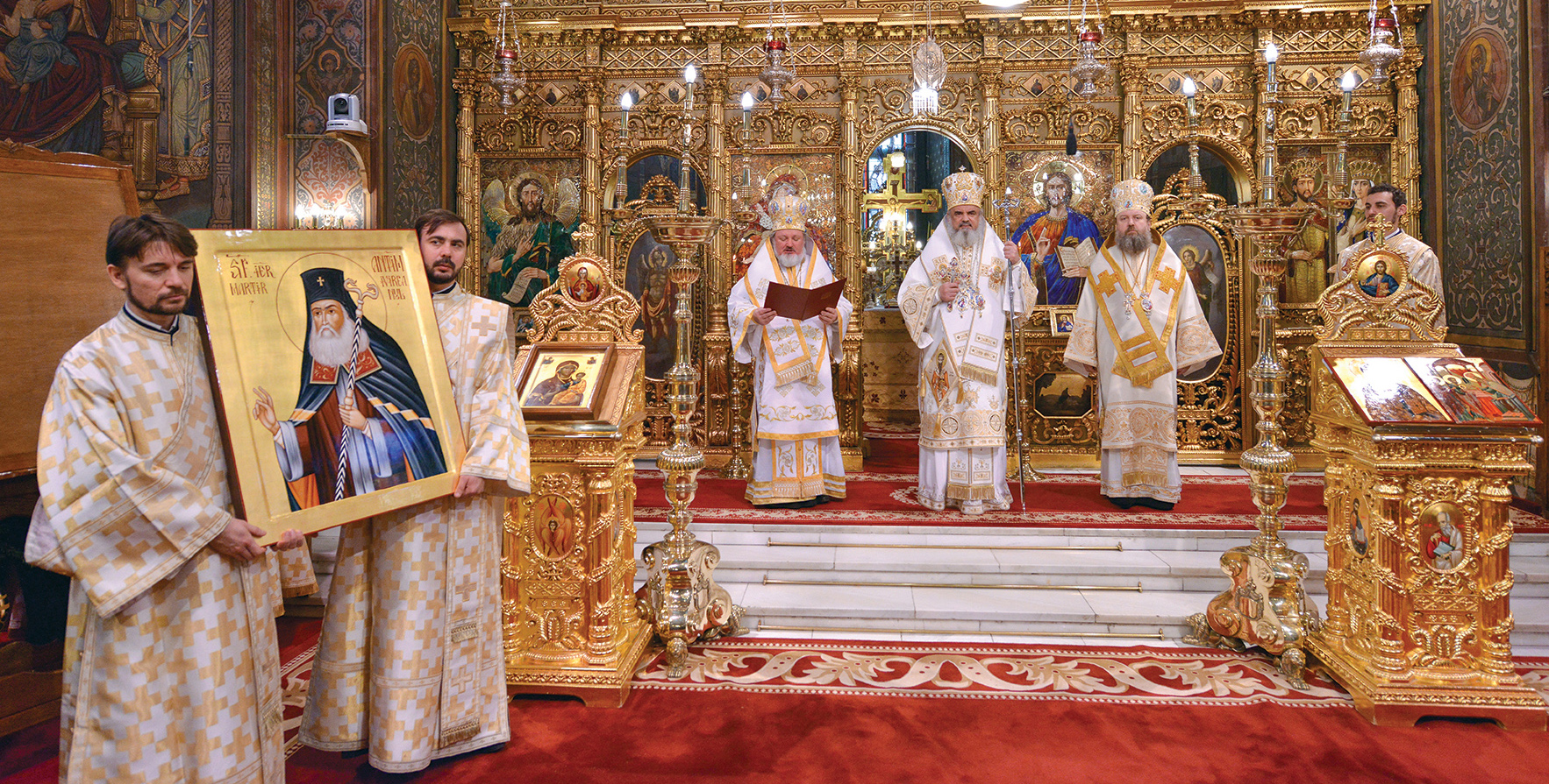 2016 – Anul omagial al educaţiei religioase a tineretului creştin ortodox şi Anul comemorativ al Sfântului Ierarh Martir Antim Ivireanul şi al tipografilor bisericeşti