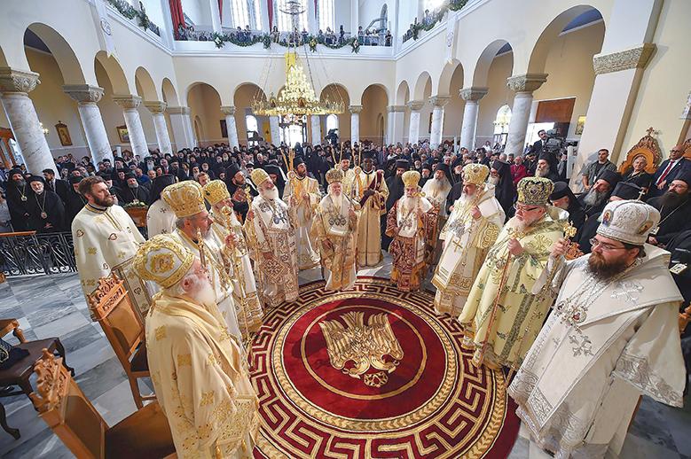 Întrunirea Sfântului şi Marelui Sinod al Bisericii Ortodoxe în insula Creta – 2016