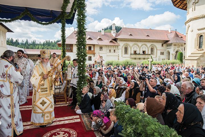 550 de ani de la ziua punerii pietrei de temelie a Mănăstirii Putna