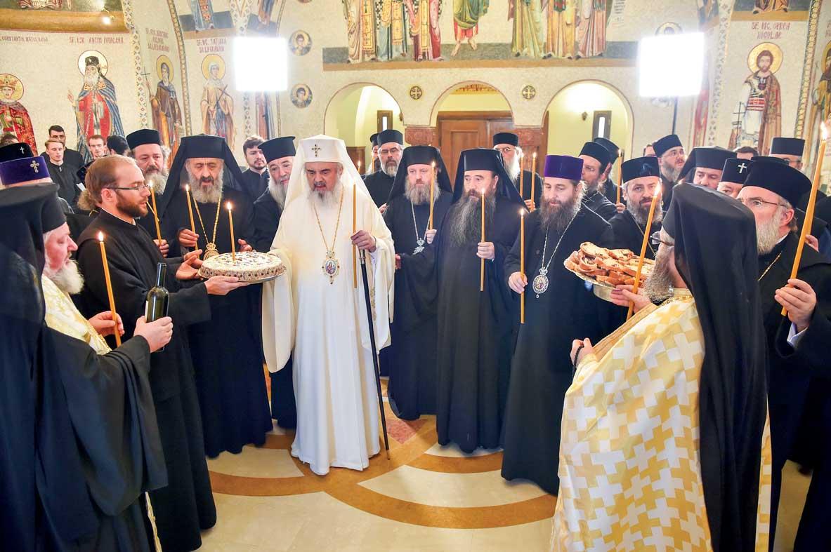 Rugăciune pentru victimele de la Clubul Colectiv la Patriarhie
