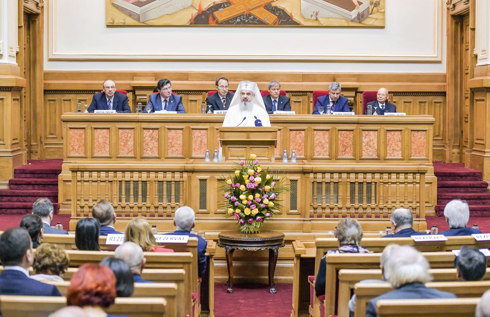 Aniversare solemnă a două Constituții ale României