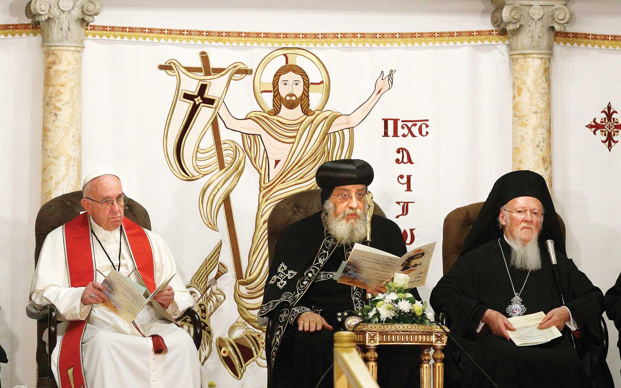 Sprijin moral pentru creștinii din Egipt