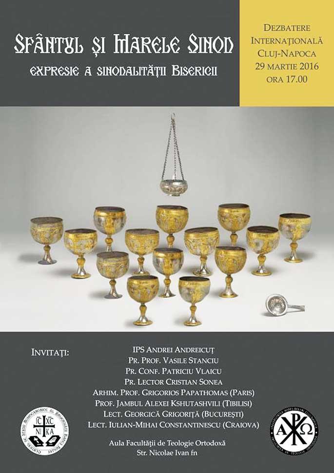 Conferință internațională despre Sfântul și Marele Sinod la Cluj-Napoca