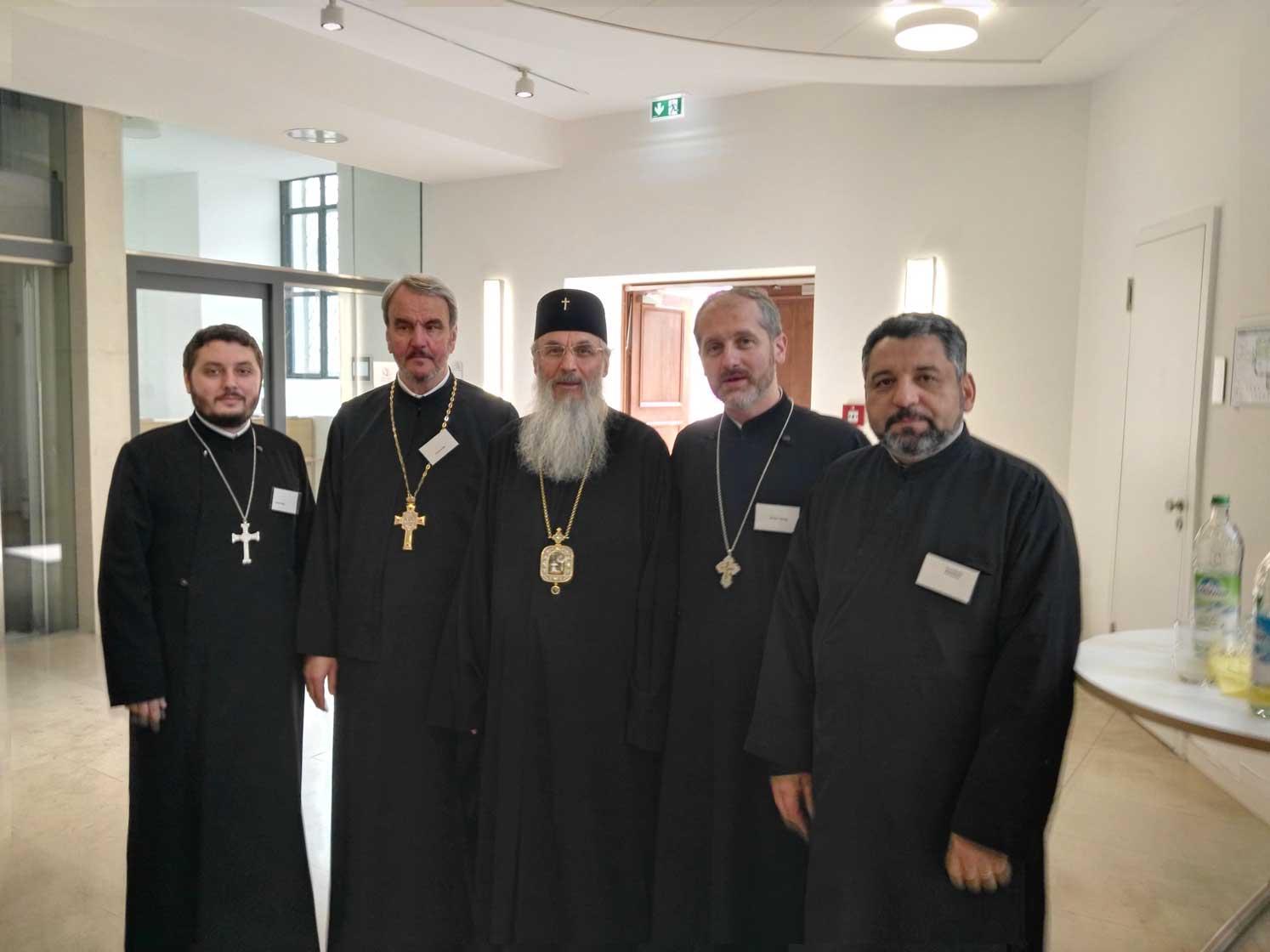 Preotul profesor Viorel Ioniță, omagiat la Erlangen