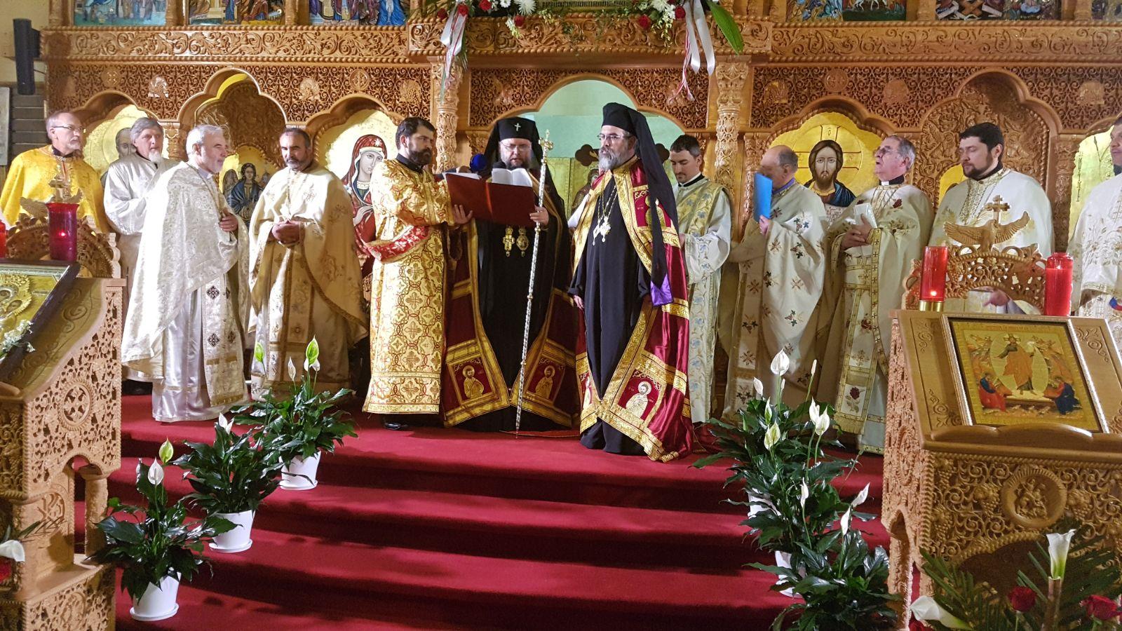 Întronizarea primului Episcop ortodox român al Canadei