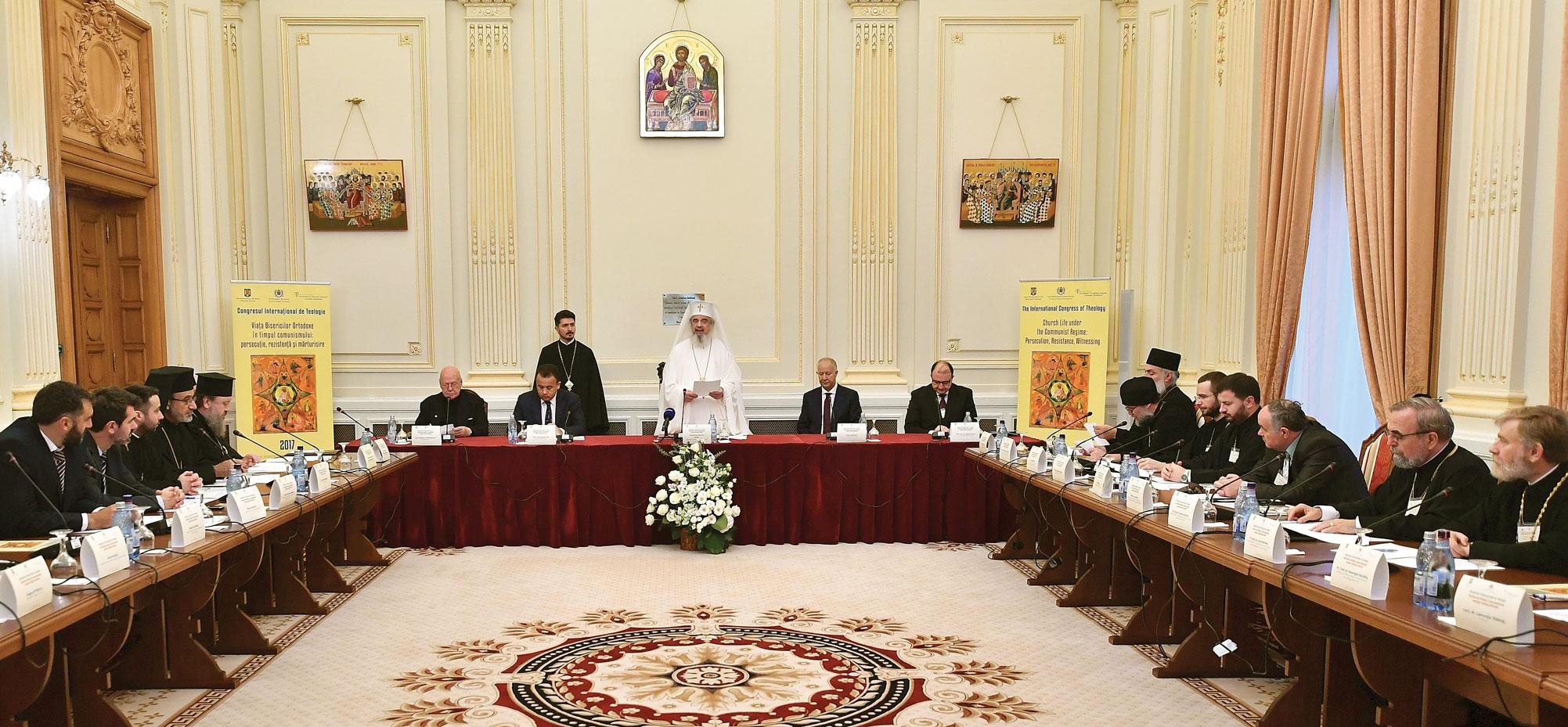 Congres internațional despre Bisericile Ortodoxe în perioada comunistă, la Palatul Patriarhiei