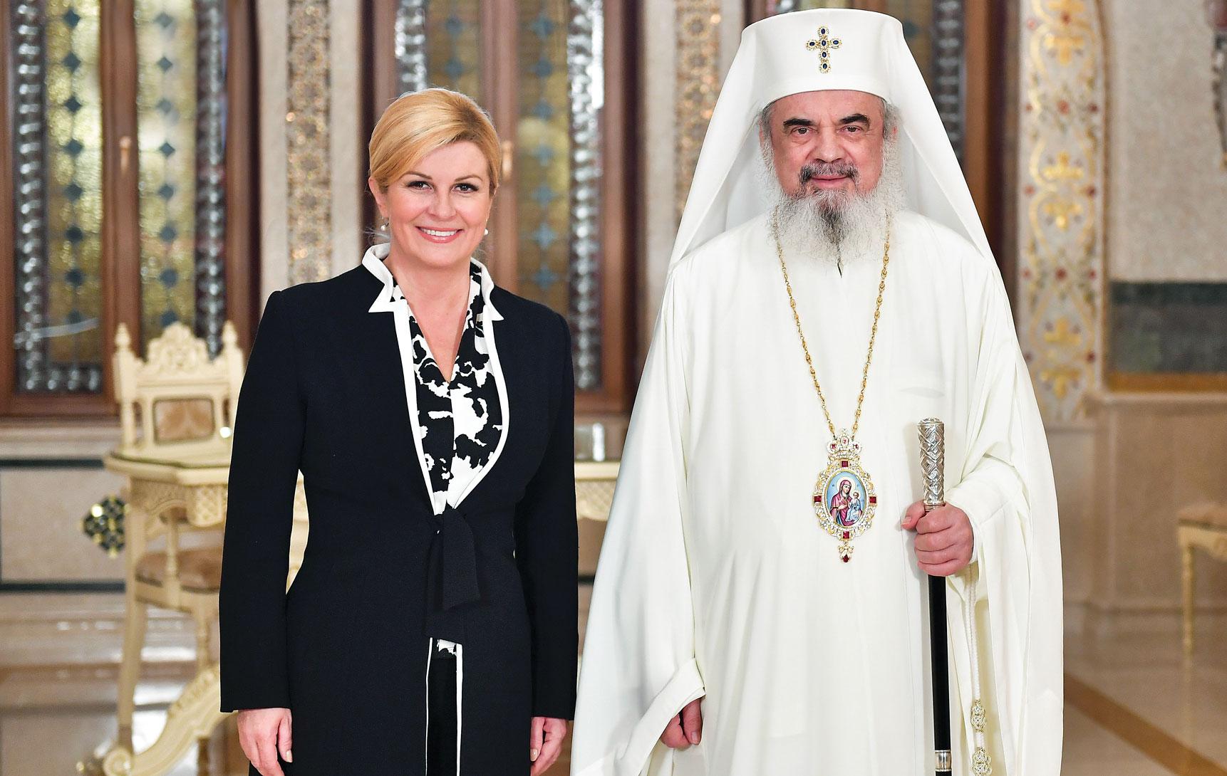 Președintele Republicii Croația  în vizită la Patriarhia Română