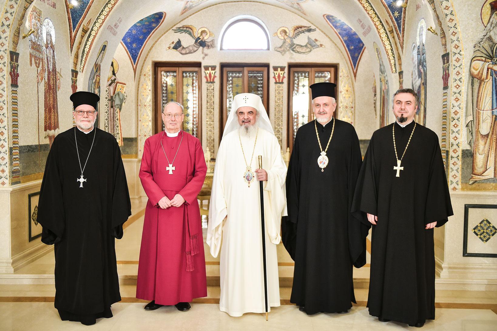 Reprezentanții Conferinței Bisericilor Europene la Patriarhia Română