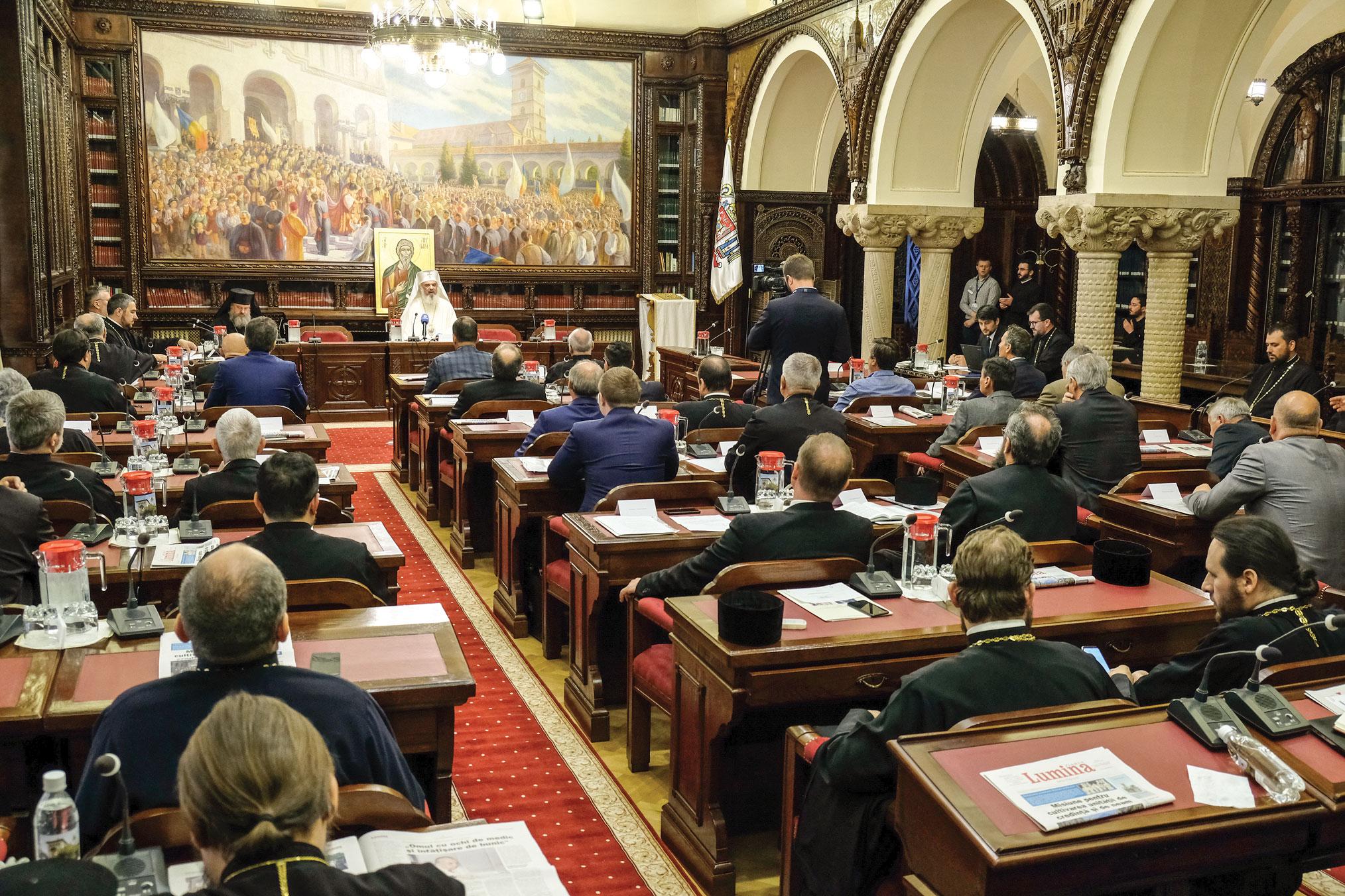 Noua Adunare eparhială a Arhiepiscopiei Bucureștilor