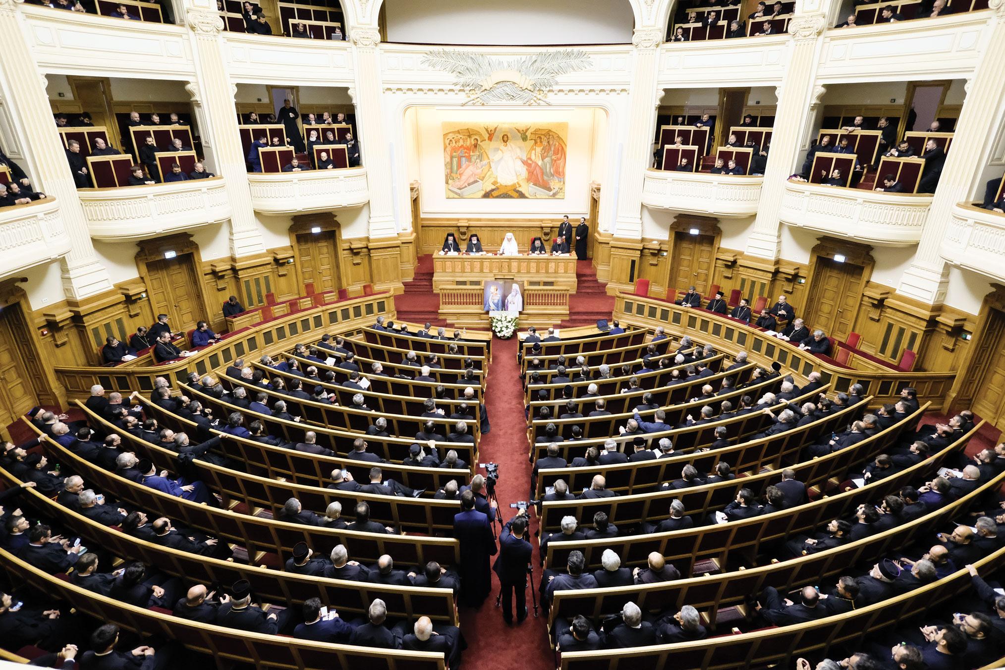 Conferință preoțească la Palatul Patriarhiei