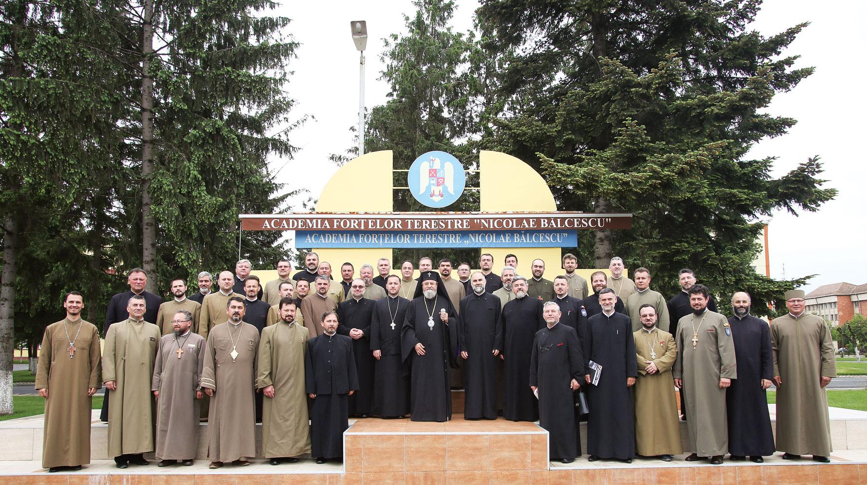 Întâlnirea preoților militari din cadrul forțelor terestre